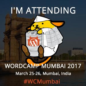 I am Attending WordCamp Mumbai 2017
